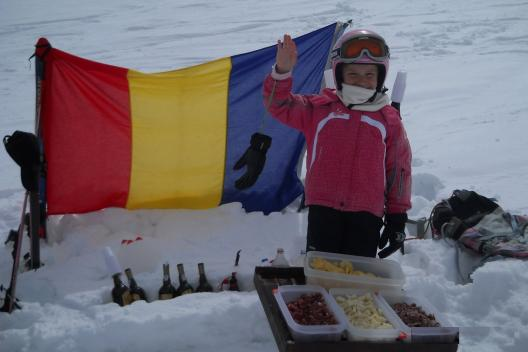 Aperitif on the slopes