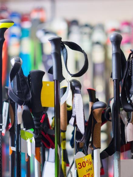Compra o lloga el teu material d'esquí
